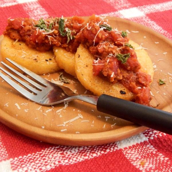 Bolognese vegetariano com Receita de Chorizo de Soja