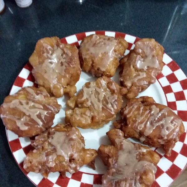 Receita de Fritters de Maçã do Chef John