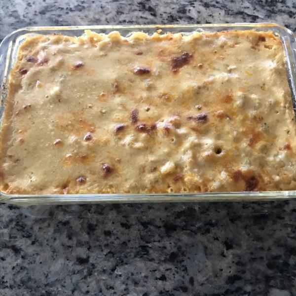 Receita de Torta de Macarrão do Sul e Queijo