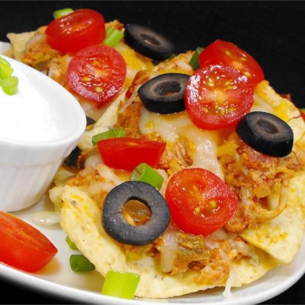 Receita de Nachos de Frango estilo restaurante