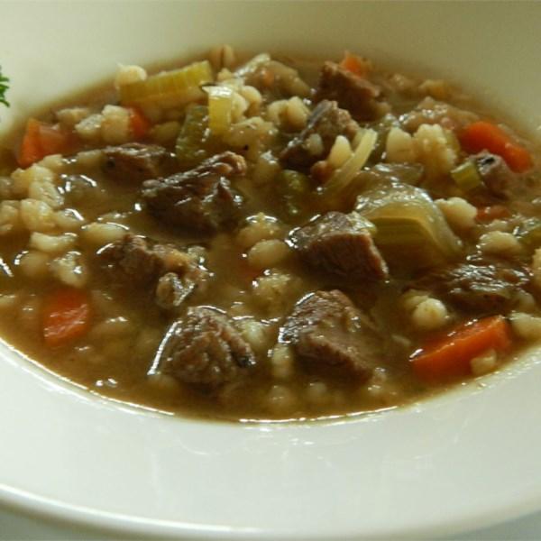 Receita de Sopa de Carne Saudável