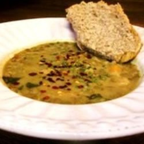 Sopa de Frango e Lentilha com Receita Caseira de Miso