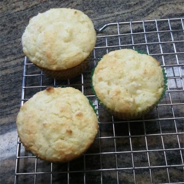 Receita de Muffins de Ricota de Abacaxi