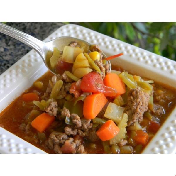 Receita de Sopa de Bife da Cidade de Saskatchewan