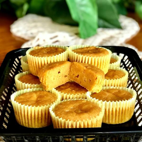 Receita de Cupcakes de Banana-Abóbora