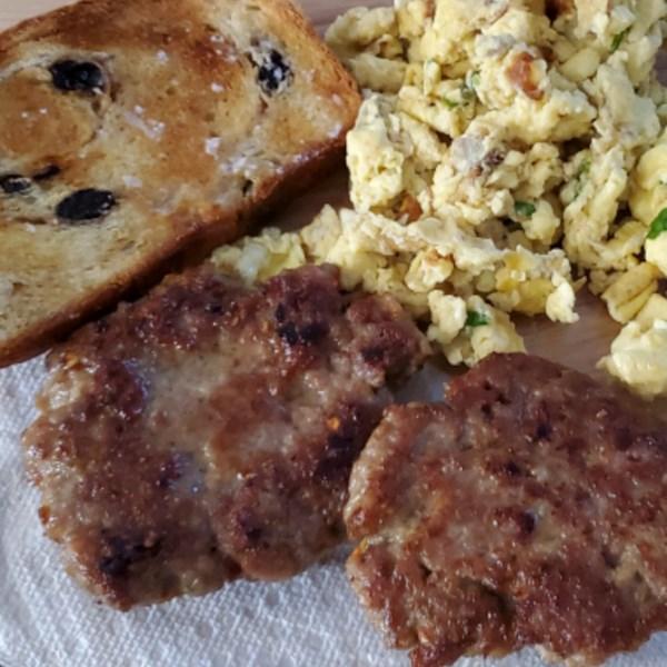 Receita de Linguiça de Café da Manhã Maple