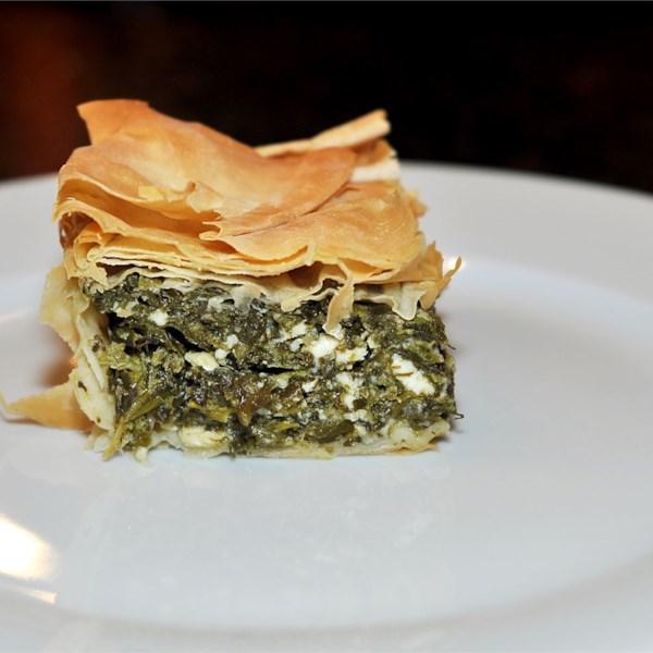 Receita de Spanakopita (Torta de Espinafre Grego)