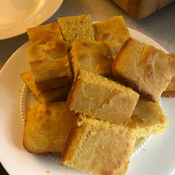 Receita de Pão de Milho Doce