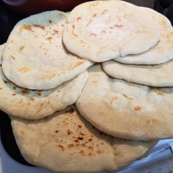 Receita de Pão de Pita do Chef John