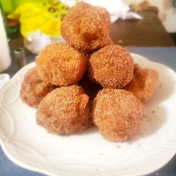 Receita de Fritters de Maçã da Mamãe