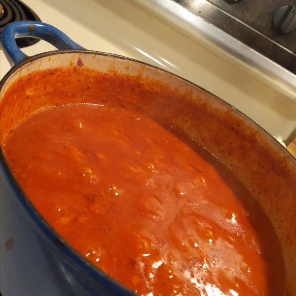 Molho de Espaguete com Receita de Carne Moída
