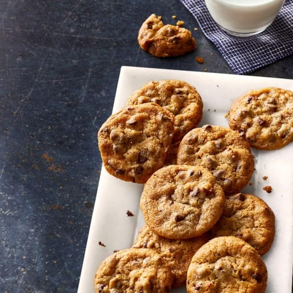 Receita de biscoito de chocolate de chocolate da fritadeira
