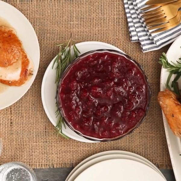 Deliciosa Receita de Molho de Cranberry
