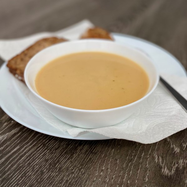 Receita de Sopa de Couve-Flor Vegana de Pote Instantâneo (R)