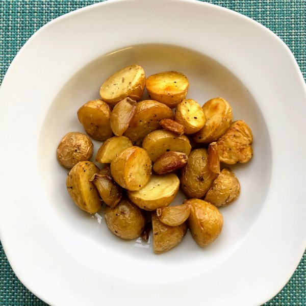 Receita de Batatas Assadas de Alho