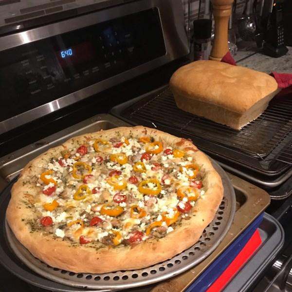 Receita de massa de pizza mais fácil do mundo