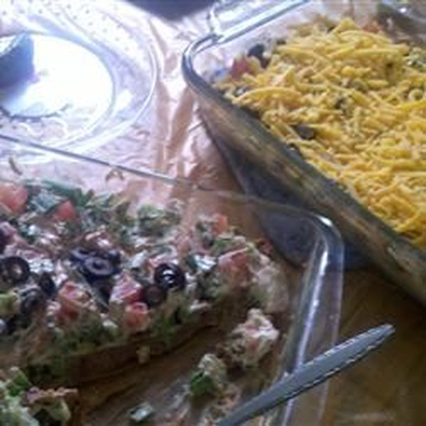 Receita saborosa de salada de taco
