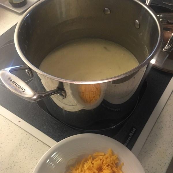 Receita de Alho-poró de Inverno e Sopa de Batata