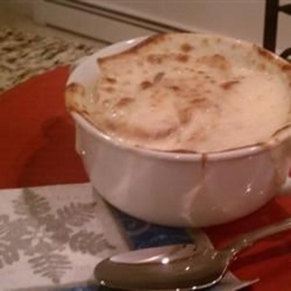 Receita de Sopa de Cebola Francesa IX