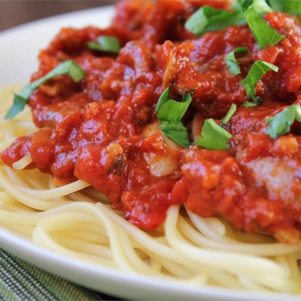 Receita de Molho de Espaguete II