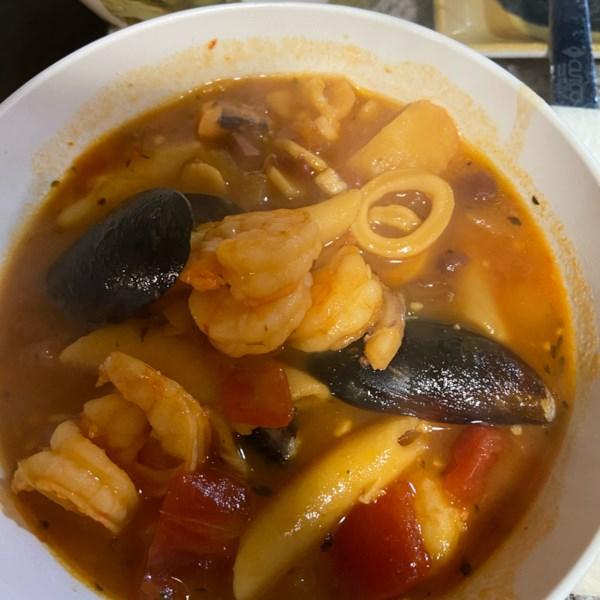 Receita de Cioppino de Frutos do Mar
