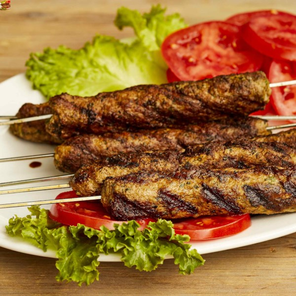 Receita de Sheekh Kabab estilo indiano