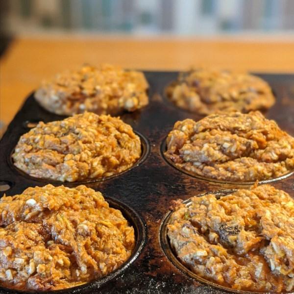 Receita de Muffins de Café da Manhã Saudável