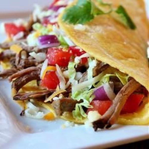 Receita de Tacos de Carne Verde chile