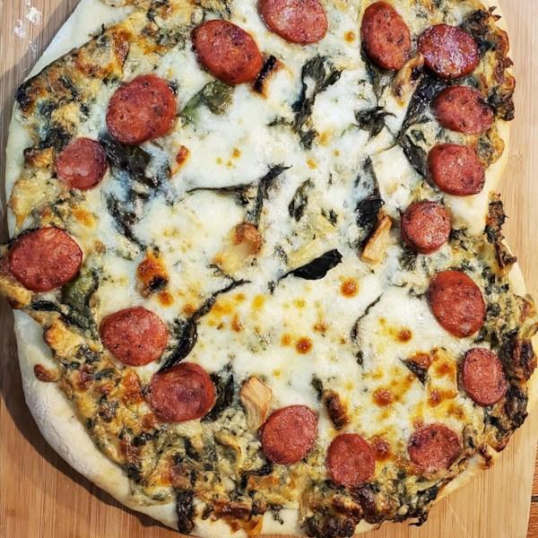 Receita de Crosta de Pizza Assinatura de Jay