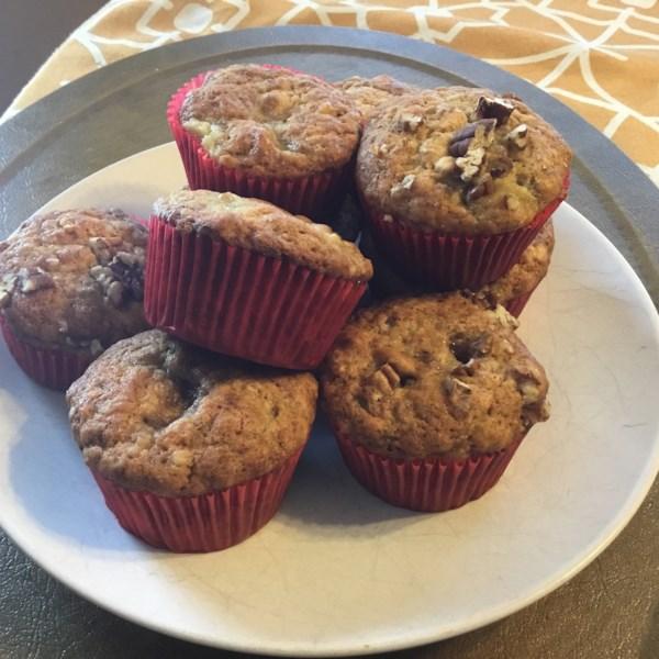 Receita de Muffins de Banana II