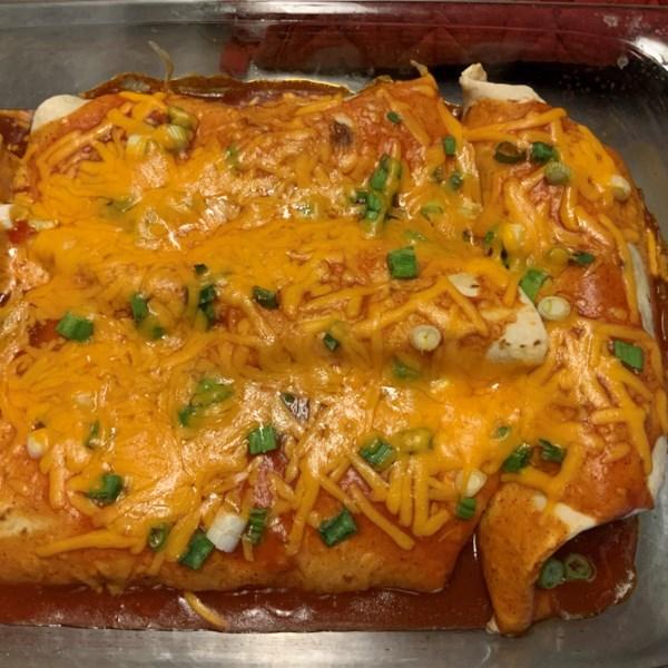 Receita enchiladas de carne desfiada