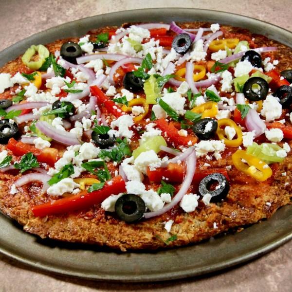 Receita de Crosta de Pizza keto