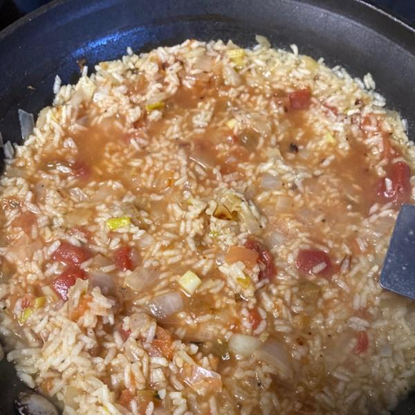 Melhor receita de arroz espanhol