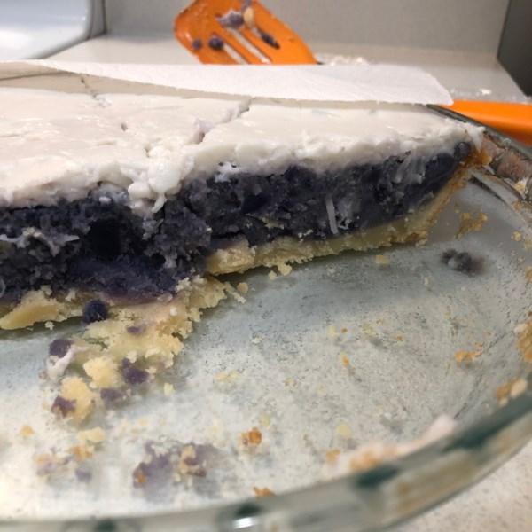 Receita de Torta de Batata Doce Haupia e Roxo