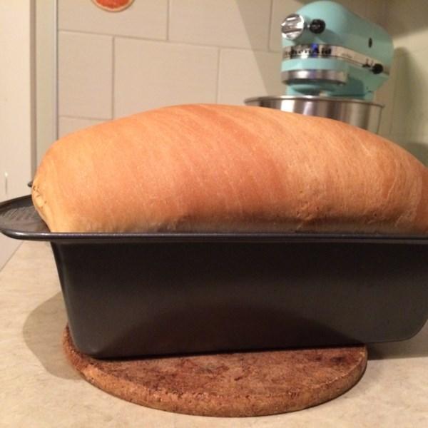 Receita de Pão Branco Amish