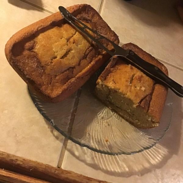 Receita de Pão de Banana Cremoso