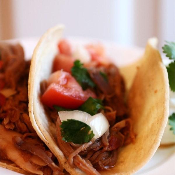 Receita de Carne De porco doce para Burritos
