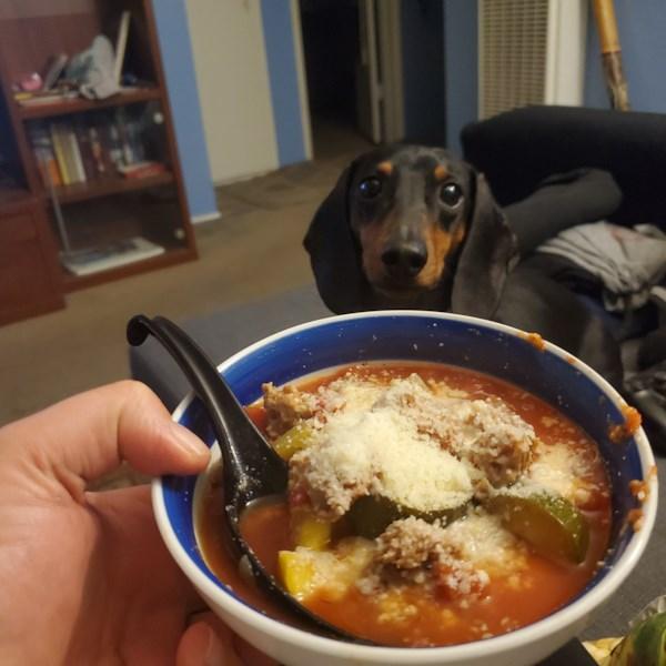 Receita de Sopa de Abobrinha de Panela Lenta