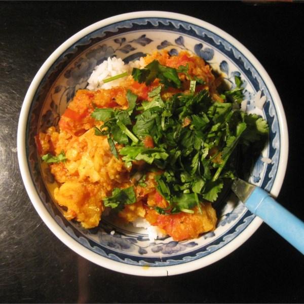 Receita de Curry de Peixe Indiano