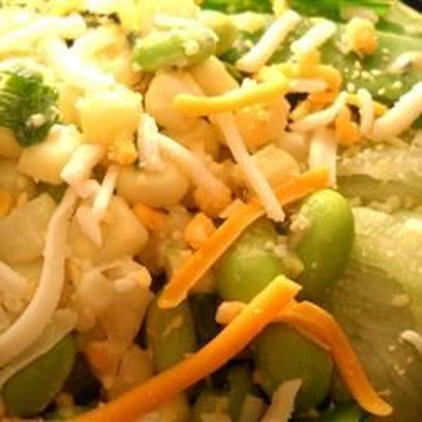 Receita de Salada de Jardim Zesty