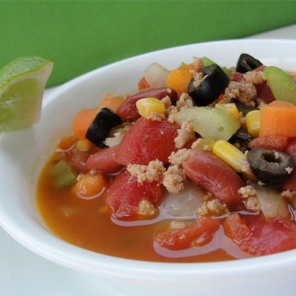 Receita de Sopa de Taco de Peru