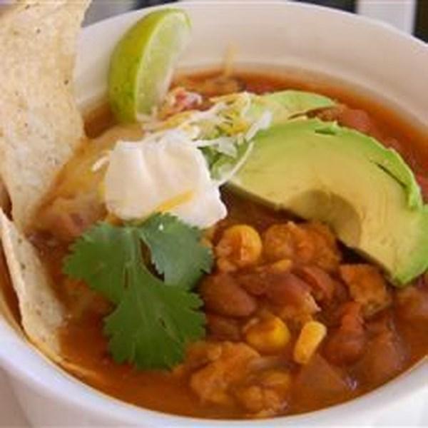 Receita de Taco Soup IV