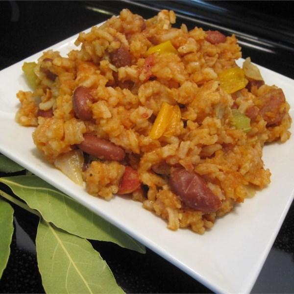 Receita de Jambalaya Cajun Fácil