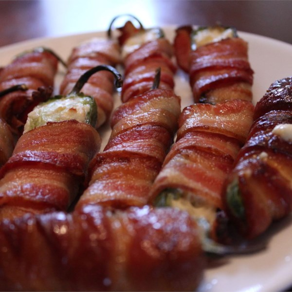 Receita de Jalapeno de Bacon Grelhado