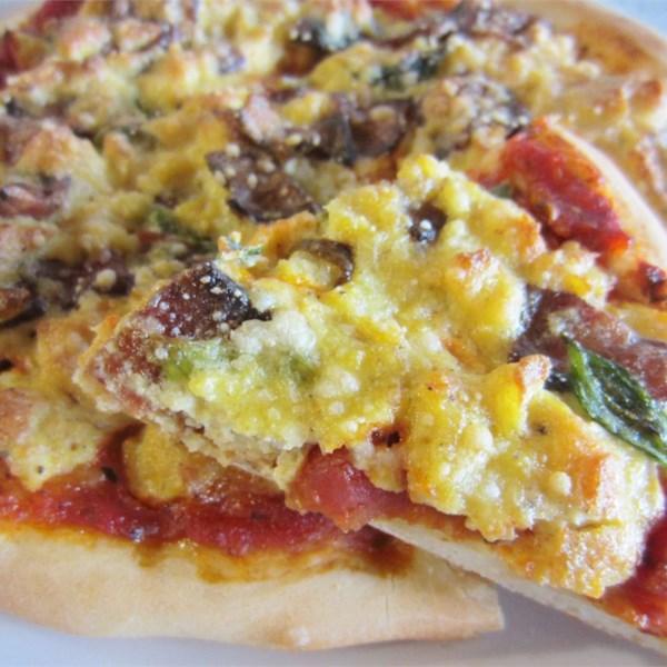 Receita de Pizza Mexida