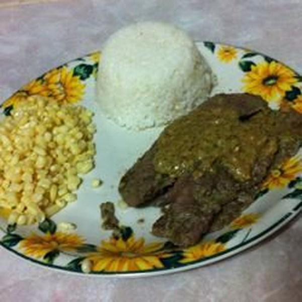 Receita de Bife de Flanco Marinado de Limão-Coentro Picante