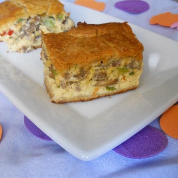Receita de Linguiça e Caçarola de Ovo de K-Dub