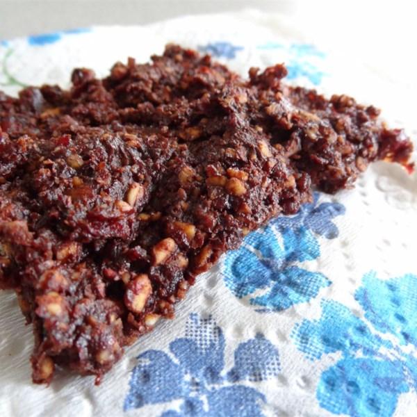 Receita de Brownies Veganos Crus