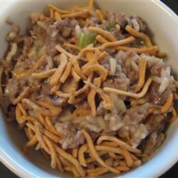 Receita de Caçarola de Macarrão Chow Mein