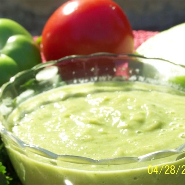 Receita saborosa de Tomatillo Guacamole
